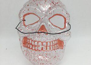 Transparent Mask-Bloody Skull