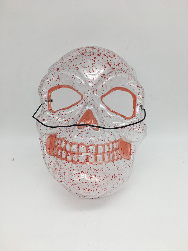 Transparent Mask-Bloody Skull