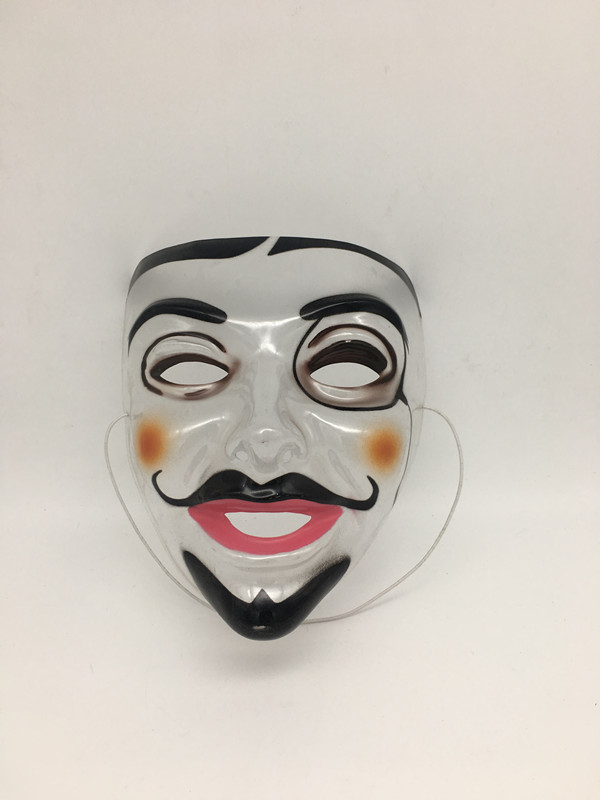 Transparent Mask-Moustache Male