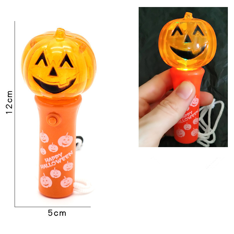 Halloween Pumpkin Skull LED Light Up Stick