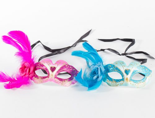 Venetian Eye Glitter Mask with Feathers Carnival Mask Mardi Gras Mask for Women