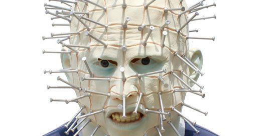 Hellraiser Pinhead Mask Halloween Costume Accessory