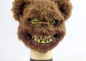 Adult Killer Brown Bear Halloween Mask