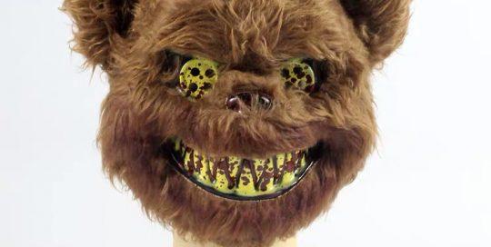 Adult Killer Brown Bear Halloween Mask