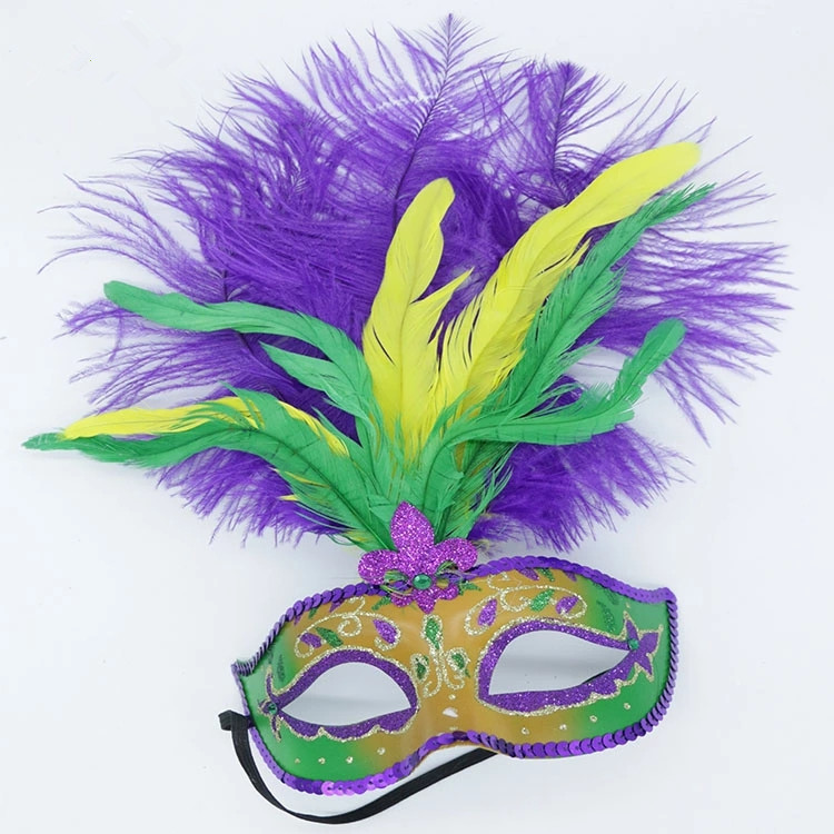 New Arrival Mardi Gras Masquerade Carnival LED Party Face Mask