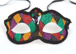 Marciana Eye Mask Multi-color Glitter Masks