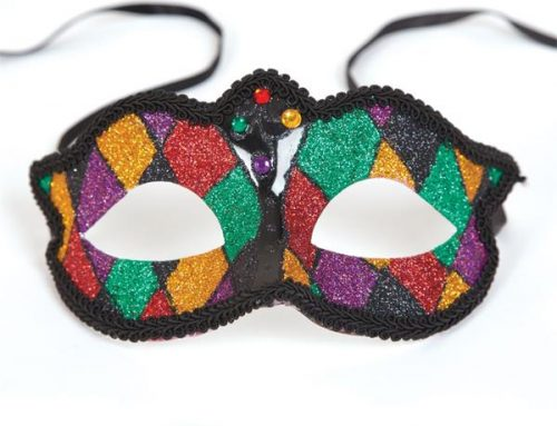 Marciana Eye Mask Multi-color Glitter Masks