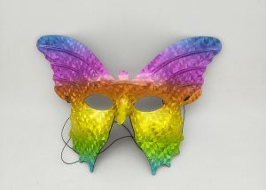 Hologram Butterfly Mask For Carnival Mardi Gras