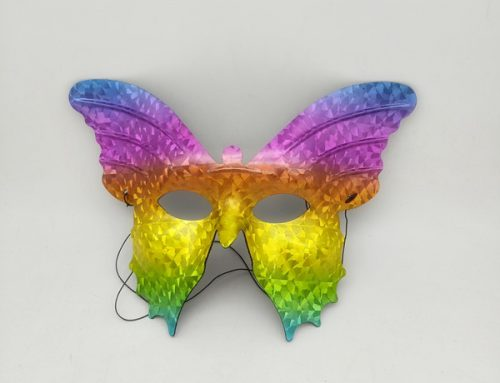 Hologram Colorful Butterfly Mask Eyemask For Carnival Pride Mardi Gras