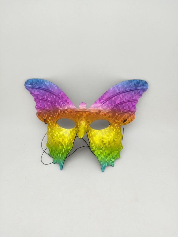 Hologram Butterfly Mask For Carnival Mardi Gras