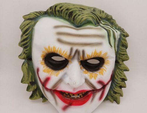 2020 Halloween Knight Joker Clown Mask Rubie's Men's Batman Begins Mask